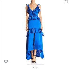 Karina Grimaldi Andrea Tiered Ruffle Dress XS NWT